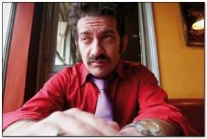Peppe Voltarelli. Foto dalla rete