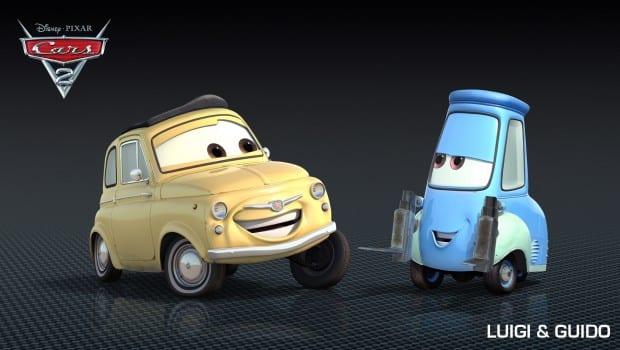 Personaggi Di Cars  Da Stampare