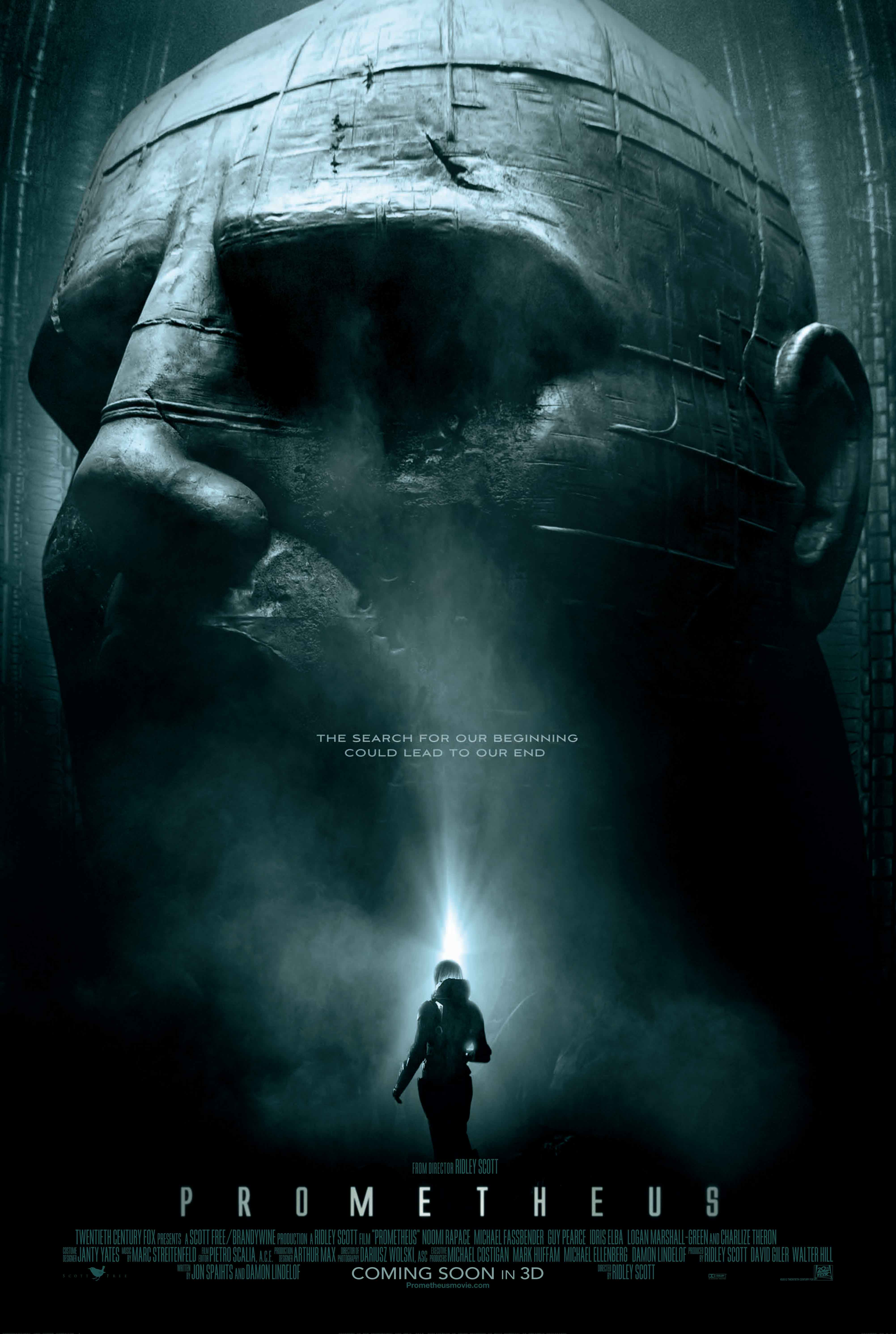 First Official Prometheus Poster