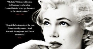 my week with marilyn poster cut 300x160 Marilyn Monroe omaggiata dal poster ufficiale di Cannes 2012