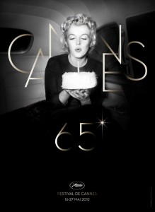 marilyn monroe cannes 65th poster 219x300 Marilyn Monroe omaggiata dal poster ufficiale di Cannes 2012
