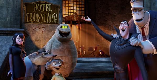 Hotel transylvania prime immagini e cast del film