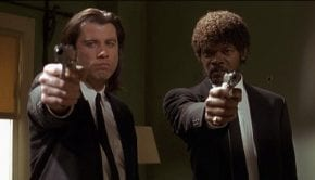 "Una scena di ""Pulp Fiction"""