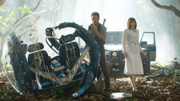 Jurassic Park - Chris Pratt e Bryce Dallas Howard