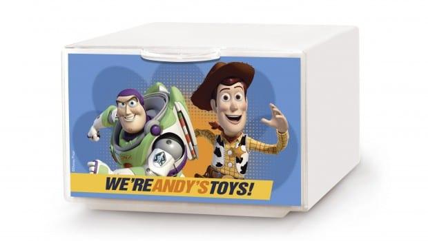 q box la cassettiera di toy story 3 1