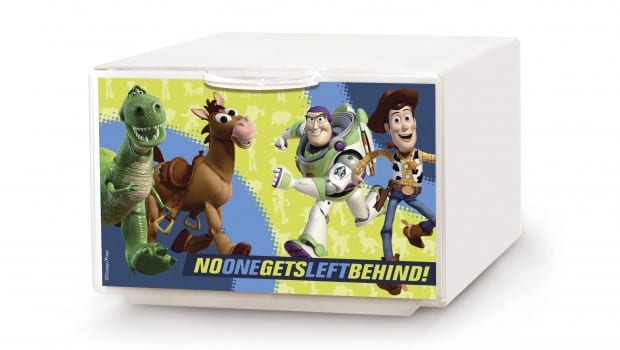 q box la cassettiera di toy story 3 2