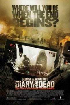 """Locandina di """"Diary of the Dead"""""""