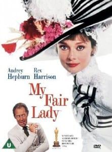 "Locandina di ""My Fair Lady"" del 1964"
