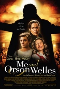 "Locandina di ""Me and Orson Welles"""