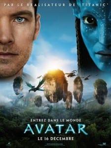 """Locandina francese di """"Avatar"""""""