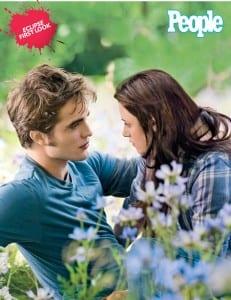 "Robert Pattinson e Kristen Stewart sul set di ""Eclipse"""