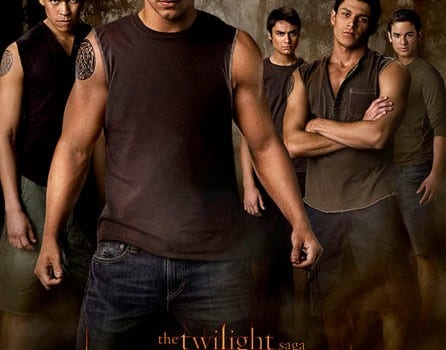 the twilight saga new moon movie poster the wolf pack