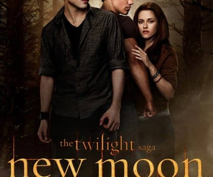twilight saga new moon locandina