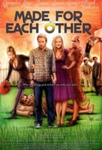 "Locandina di ""Made for each other"""