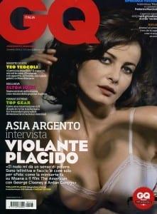 Violante Placido sulla copertina di GQ