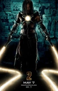 Iron Man 2 - Locandina con Mickey Rourke / Whiplesh