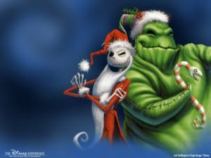 Jack Skellington & the Oogie Boogie