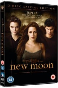 """The Twilight Saga: New Moon"" - Copertina del DVD"