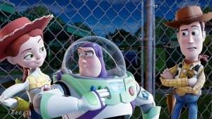Toy Story 3 - Jessie, Buzz Lightyear e Woody