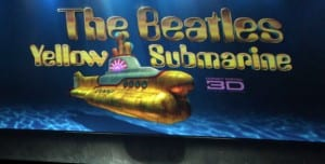 """Logo di """"Yellow Submarine"""" in 3D"""