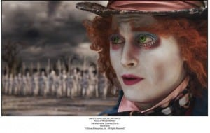 Alice in Wonderland Il Cappellaio Matto Film Frame Esclusiva Screenweek mid