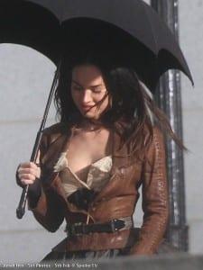 """Megan Fox sul set di """"Jonah Hex"""""""