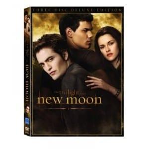 """Copertina del DVD di """"The Twilight Saga: New Moon"""""""