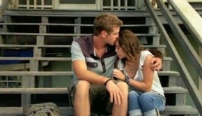 """Liam Hemsworth e Miley Cyrus in """"The Last Song"""""""