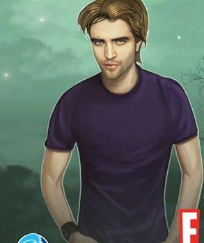 Robert Pattinson in versione fumetto