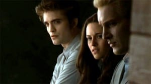 Robert Pattinson, Kristen Stewart, Peter Facinelli