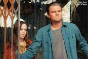 Ellen Page e Leonardo DiCaprio