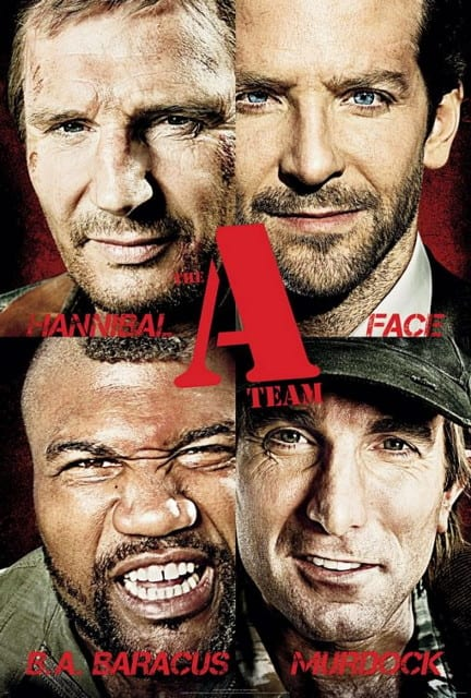 "Locandina di ""The A-Team"""