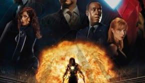 "Locandina Italiana di ""Iron Man 2"""