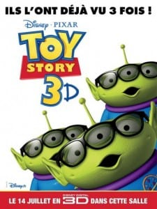 "Locandina francese di ""Toy Story 3"""