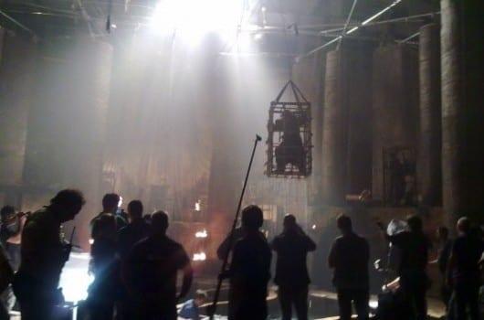 Conan il barbaro - foto dal set