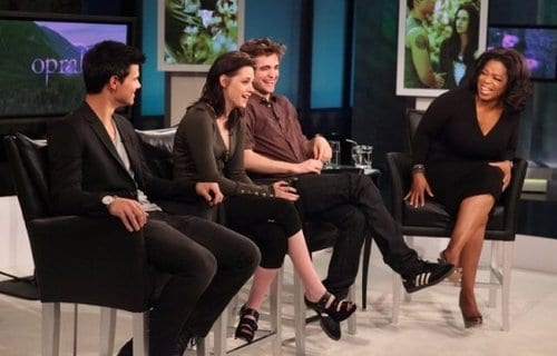 Taylor Latuner, Robert Pattinson e Kristen Stewart