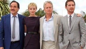 Oliver Stone, Carey Mulligan, Michael Douglas, Shia LaBeouf