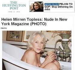 Helen Mirren sul New York Magazine