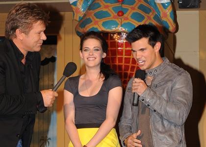 Kristen Stewart e Taylor Lautner