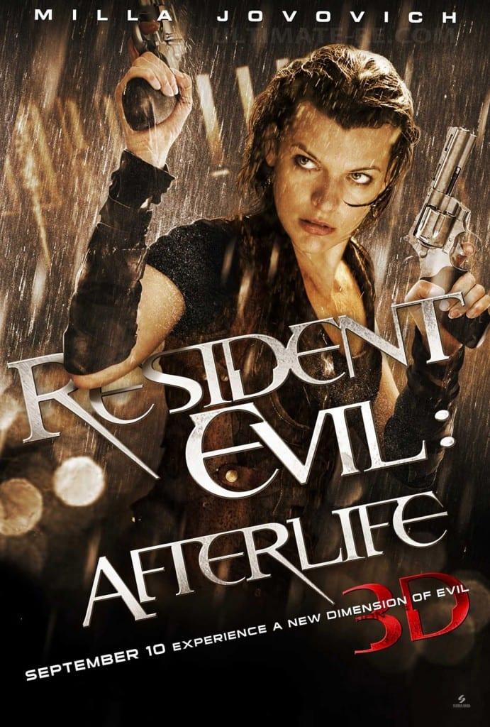 Resident Evil Afterlife 3D