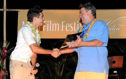 Zac Efron al Maui Film Festival