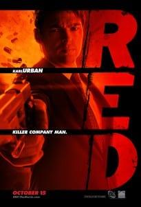 Red movie poster Karl Urban