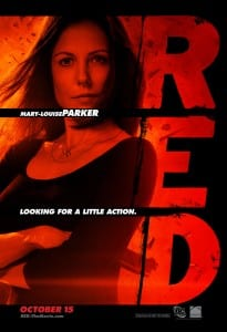 Red movie poster Mary Louise Parker
