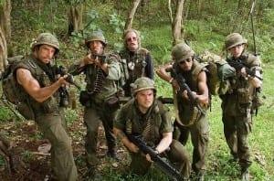Jim Baruchel in Tropic Thunder