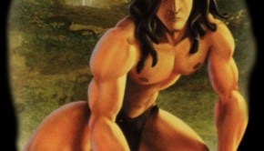 Tarzan Kneel