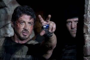 The Expendables Sylvester Stallone Barney Jason Statham Lee