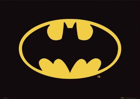 Batman Comic Logo L