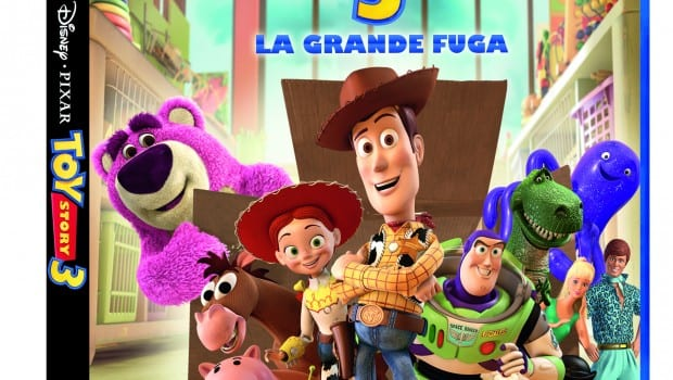 Toy Story 3 DVD 3D