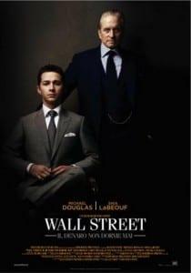 wall street denaro non dorme mai locandina