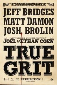 true grit teaser poster 1